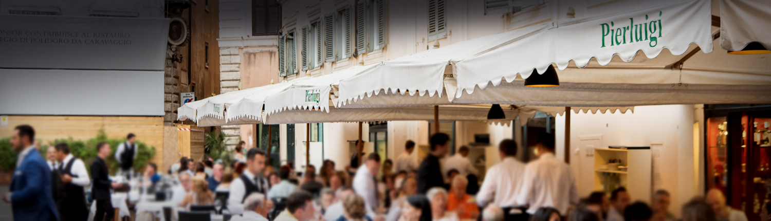 Our History - Pierluigi Restaurant - Rome - Since 1938