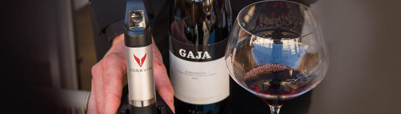 Wine cellar - Coravin - Pierluigi Rome