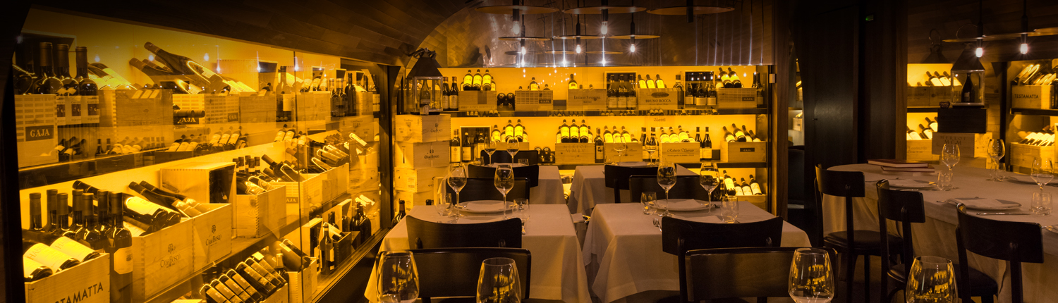 Wine Cellar - Pierluigi Restaurant - Rome - Private Dining