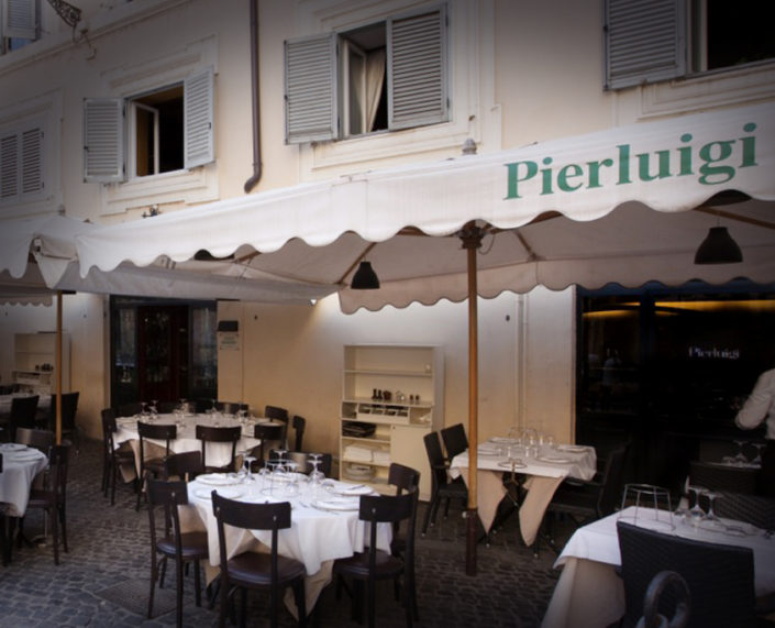 Pierluigi Restaurant - Outside area
