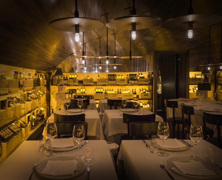 Our Restaurant - Gallery - wine Cellar - Since 1938 - Pierluigi Restaurant - Rome