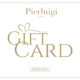 Gift Card Basic - A special gift for you or your friend. Pierluigi Restaurant in Rome