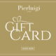 Gift Card Gold - A special gift for you or your friend. Pierluigi Restaurant in Rome